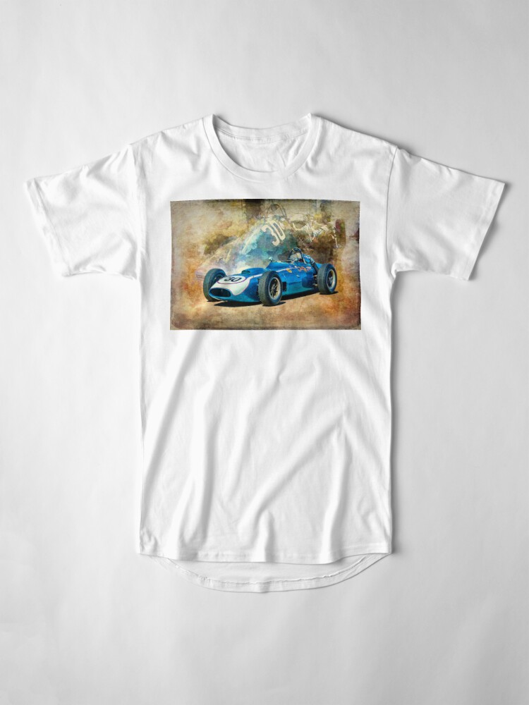 Alternate view of 1960 Scarab F1 Car Long T-Shirt
