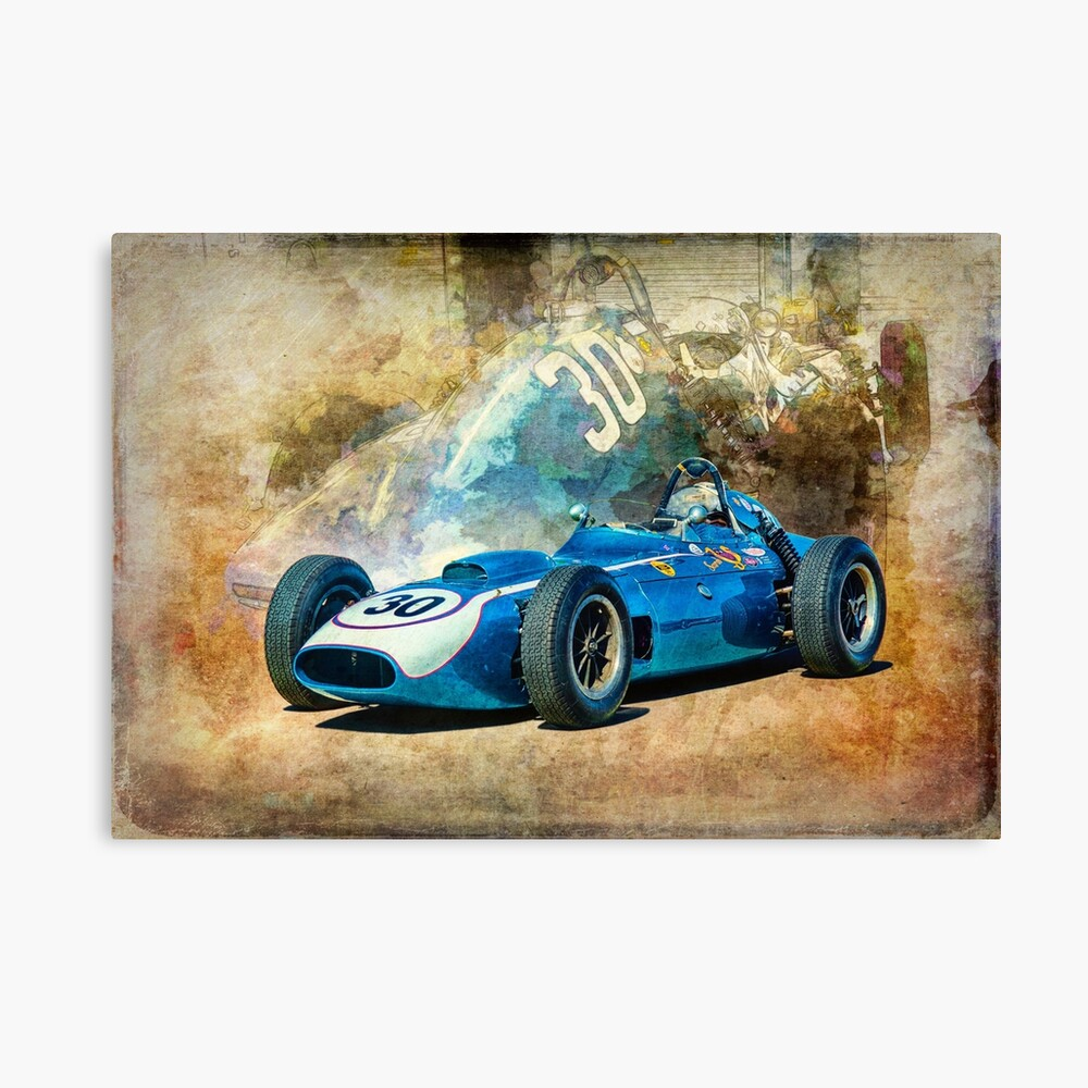 1960 Scarab F1 Car Canvas Print