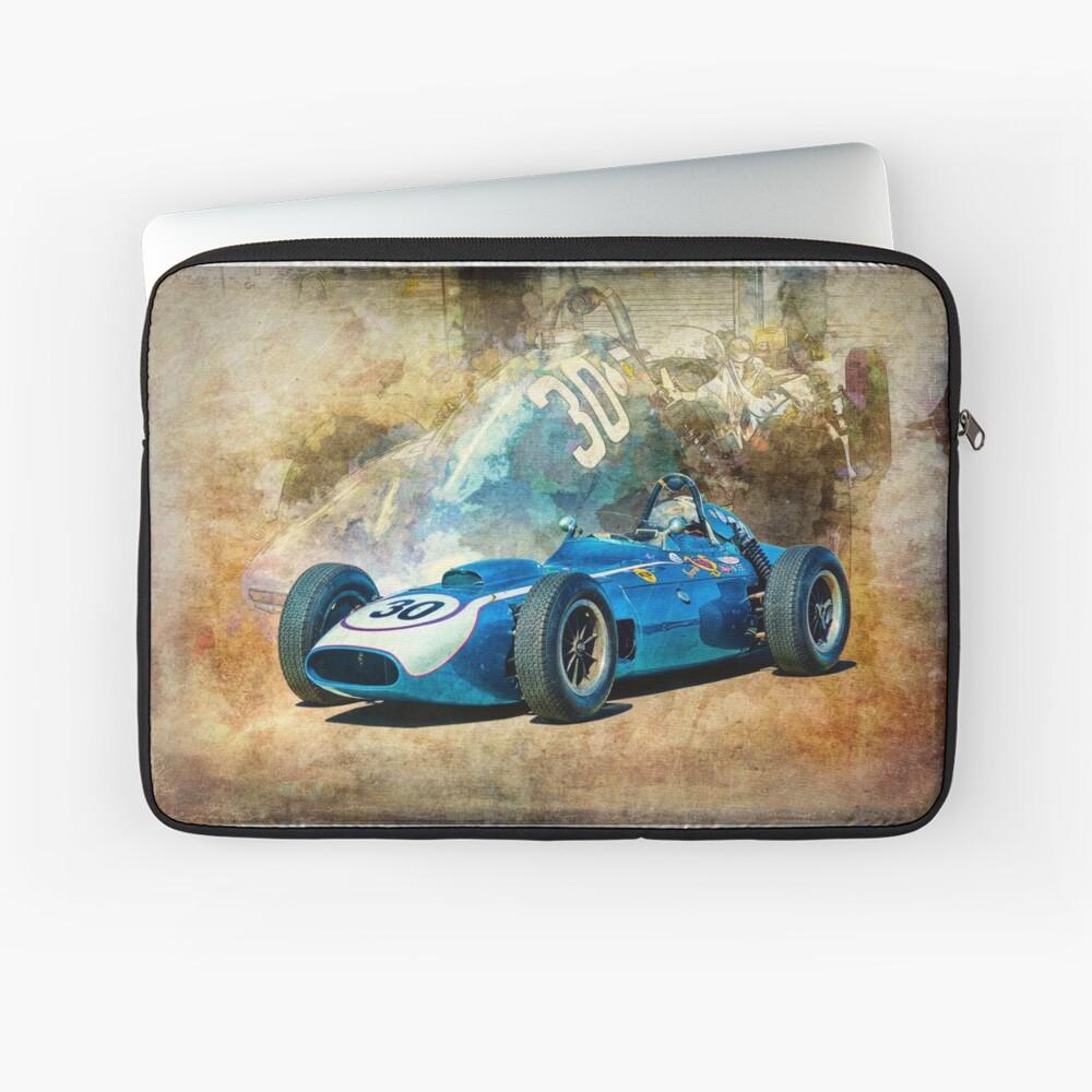 1960 Scarab F1 Car Laptop Sleeve