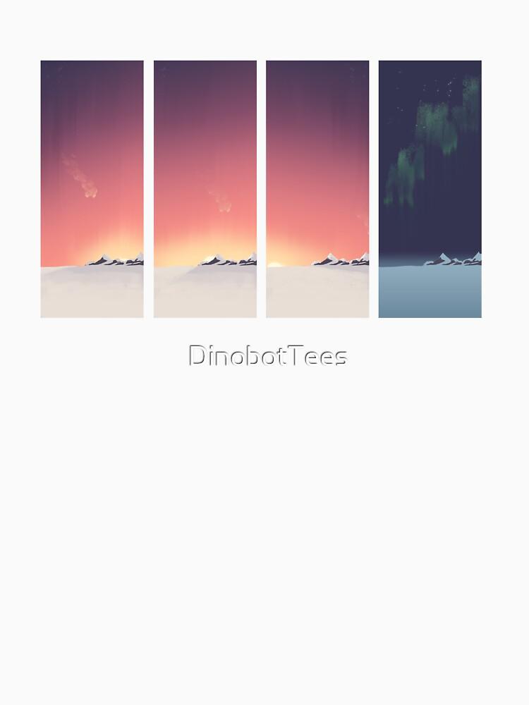 SUNRISE - Wintersonne von DinobotTees