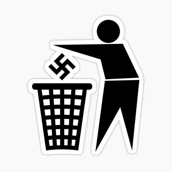 anti-nazis / anti-fascisme Sticker