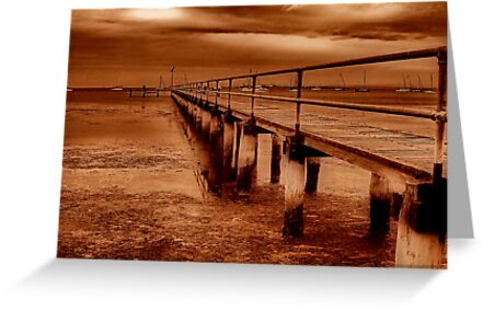 """""""Griffins Gully Jetty"""" by Phil Thomson IPA"""