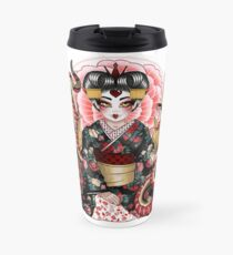 The Geisha of Hearts Travel Mug