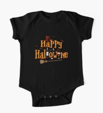 Happy Hallowine Funny Halloween Hallo Wine Lover Gift Kids Clothes