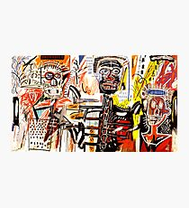 Jean-Michel Basquiat - Philistines 1982 Photographic Print