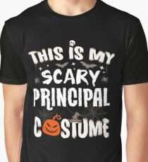 This is my Scary Principal Costume Halloween Funny Graphic T-Shirt