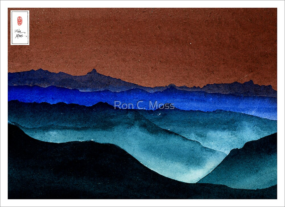 Shades of Mountains by Ron C. Moss