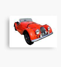 Morgan Vintage Car Automobile Classic Canvas Print