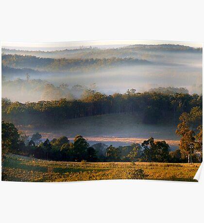 "'Frost & Fog"" Poster"