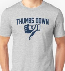 Thumbs Down Baseball Celebration T-Shirt