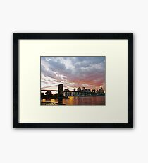 ATTACHMENTS Framed Print