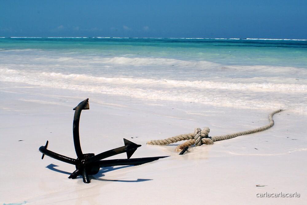 Miles Away from Real Anchor by carlacarlacarla