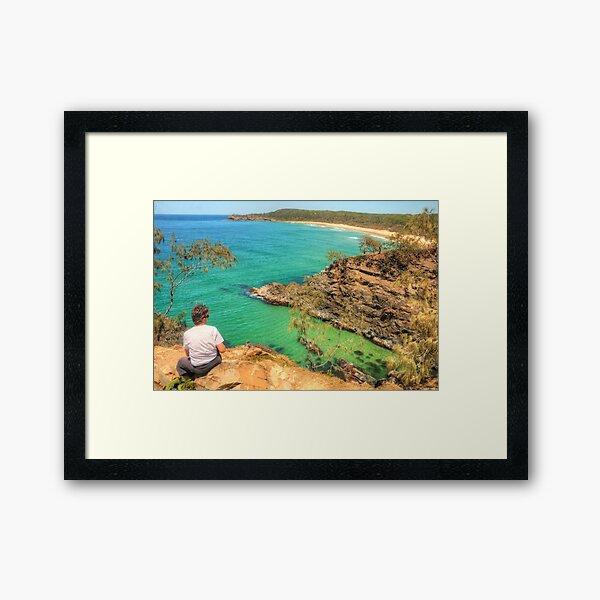 Noosa View Framed Art Print