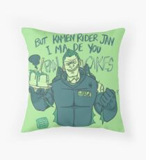 Ominous Pancakes for KR Jan Throw Pillow