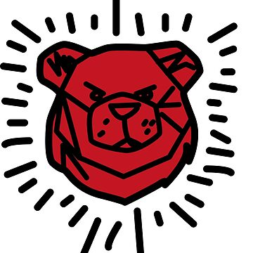 ROBUST BEAR RED by Robust