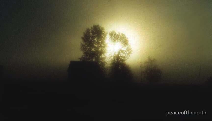 Misty Surise by peaceofthenorth