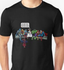 Nurse and Superheroes shirt, Not every super hero wears a cape… T-Shirt
