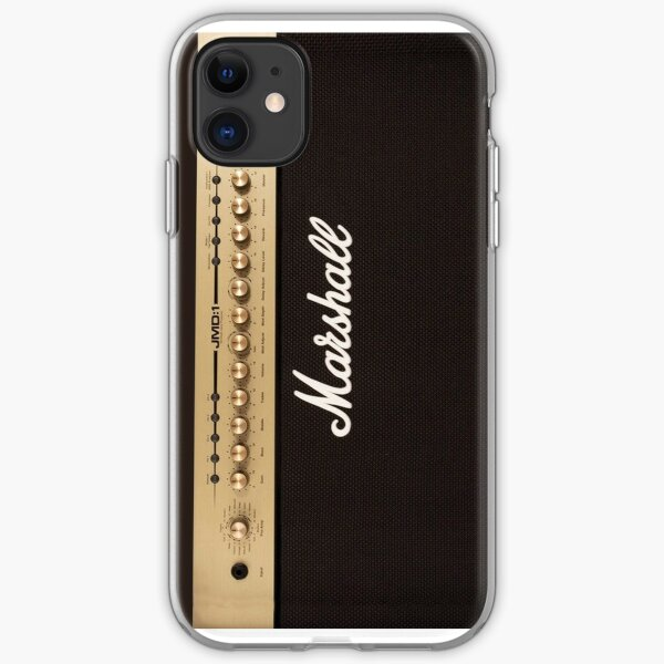 Marshall Guitar Double Amplifier iPhone Soft Case