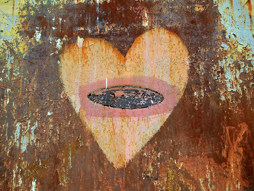 Dumpster Heart by studyinlight