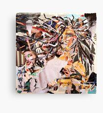 Medusa - Magazine Collage Canvas Print