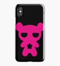 Magenta Lazy Bear (Cute and Pink) iPhone Case/Skin