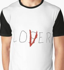 Stephen King's It The Losers Club Loser / Lover  Graphic T-Shirt