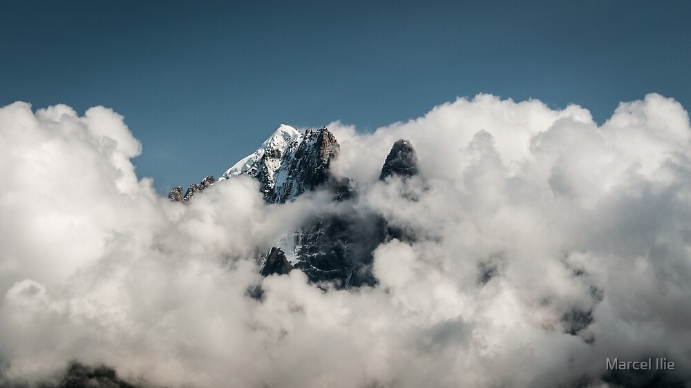 In clouds by Marcel Ilie