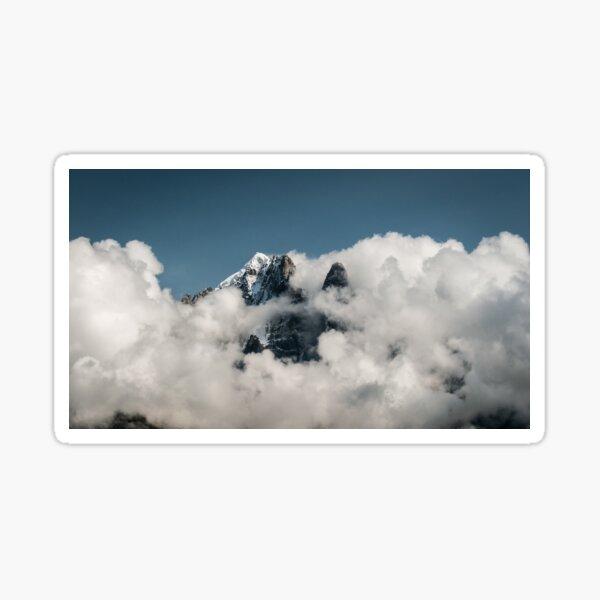 In clouds Sticker