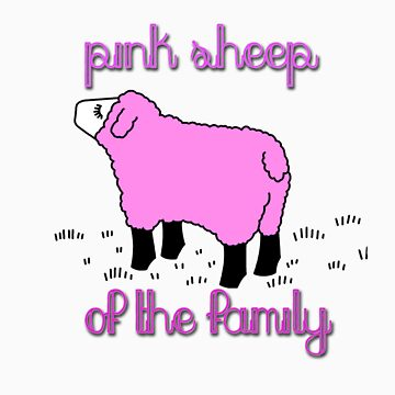 pink sheep of the family by amarbitor