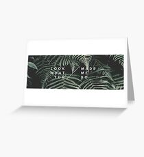 Taylor Forest Greeting Card