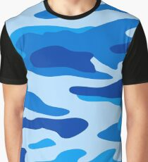 Sea camouflage Graphic T-Shirt