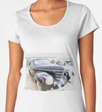 Art deco on wheels Women's Premium T-Shirt