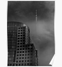 Downtown Toronto Fogfest No 7 Poster