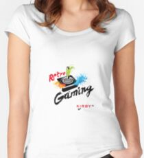 RetroGaming Kirby-54 Women's Fitted Scoop T-Shirt