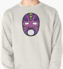 """""""Lucha Libre"""" (Free Fight) Mexican Wrestling Mask Purple Pullover"""