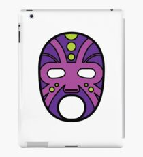 """""""Lucha Libre"""" (Free Fight) Mexican Wrestling Mask Purple iPad Case/Skin"""