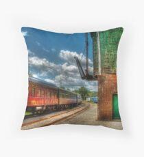 Kitchi Gammi - Passenger Car Throw Pillow