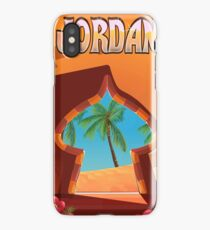 Jordan Palace travel poster iPhone Case/Skin