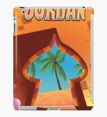 Jordan Palace travel poster iPad Case/Skin