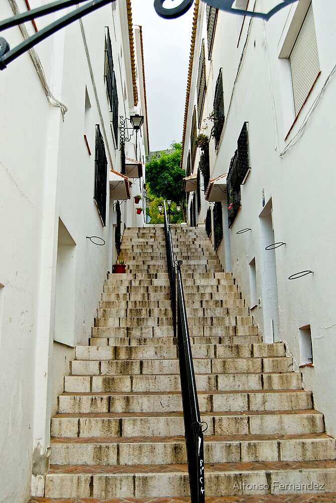 Stairsway to heaven by Alfonso Fernandez