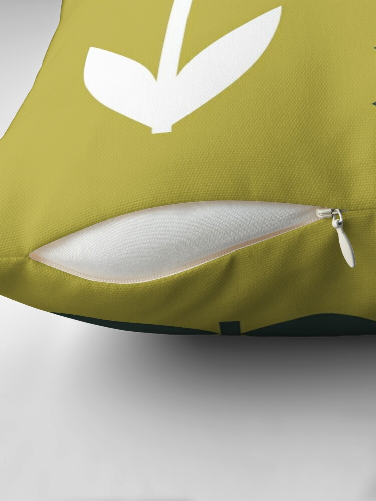 Alternate view of Set Sun Olive Throw Pillow
