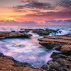 The rocks at El Banyets by Ralph Goldsmith