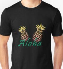 "Summer  ""Aloha"" pineapple design T-Shirt"