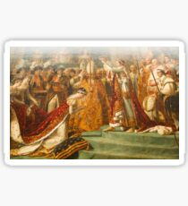Other Treasures Of The Louvres - 6 - The Coronation Of Napoleon ©  Sticker