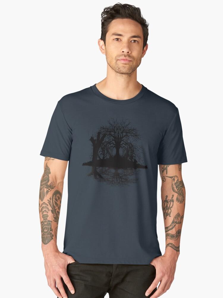 Wicked Pond Men's Premium T-Shirt Front