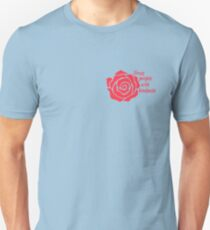 Treat People With Kindness Rose T-Shirt