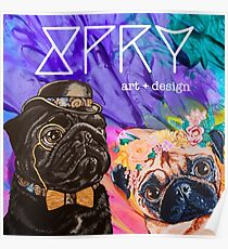 SPRY Art & Design Logo Poster