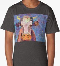 THE COW WITH THE CRUMPLED HORN Long T-Shirt