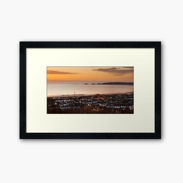 Swansea bay south Wales Framed Art Print