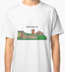 Canada, Quebec City City Skyline Design Classic T-Shirt
